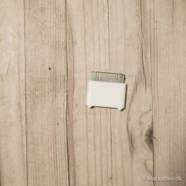 Lightning 8-pin til 30-pin adapter