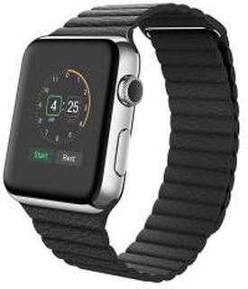 Rem til Apple Watch 38mm & 40mm Sort