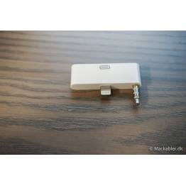 8pin til 30pin-adapter Med lyd til iPhone 5/5s/SE