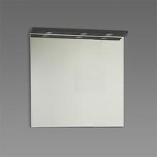 Spegel med ramp Källa / Ramsnäs 900 mm, Granit, 900 mm