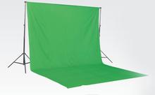 Grön bomullsbakgrund för fotografering (3x5m)