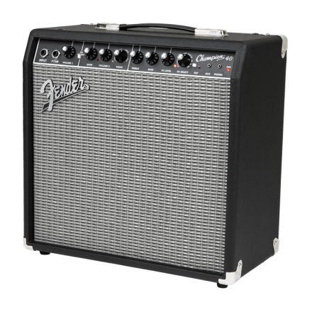 Fender Champion 40 gitarforsterker black silver