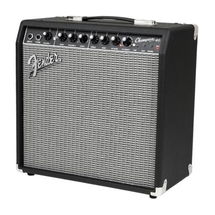 Fender Champion40 gitarforsterker black silver