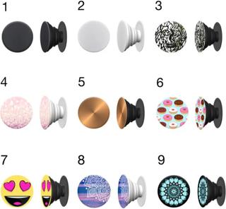 Pop Socket - Stabilt grepp om mobilen! - Rosa glitter