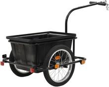 vidaXL Cykelvagn 50 L svart