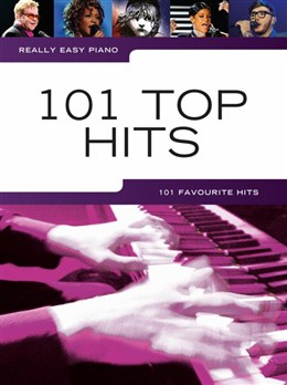 Really Easy Piano: 101 Top Hits lærebok