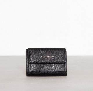 Marc Jacobs Mini Trifold Plånböcker Black/Gold