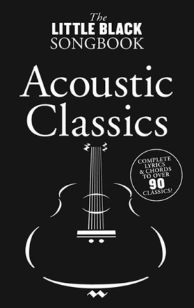 TheLittleBlackSongbookAcousticClassic lærebok
