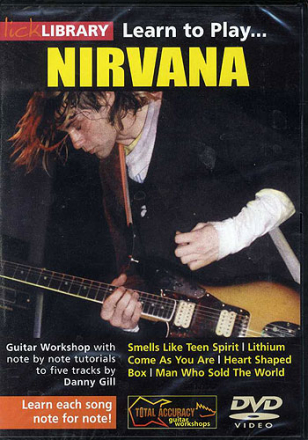Lick Library: Learn To Play Nirvana DVD