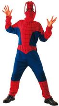 Spindelhjälte maskeraddräkt