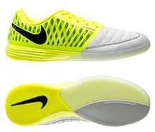 Nike Lunargato II IC - Keltainen/Musta/Valkoinen