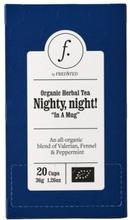 Fredsted Bio Kräutertee Nighty, Night! 36 g