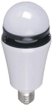 Redshow BLB-27 LED-pære med lysshow, høyttaler og Bluetooth