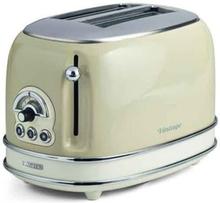 Ariete Vintage 2-slice Toaster Beige