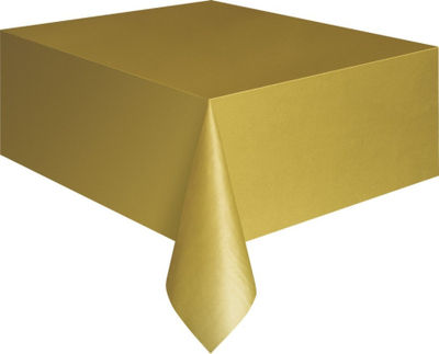 Bordsduk i plast - Guldig
