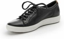 Sneakers Soft 7 W Ladies i skinn från Ecco svart