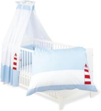 Textilset till Babysäng 4 delar, Skepp Ohoj - Beds & Acessories