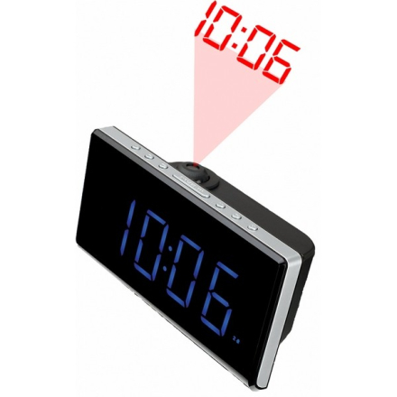 "Klockradio Denver Electronics CRP-515 1,8"" LED FM Svart"