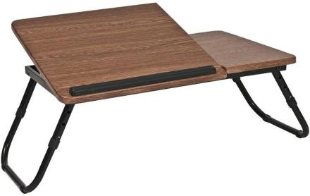 Lillian bord för laptop - Brun