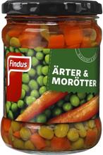 Ärter och Morötter