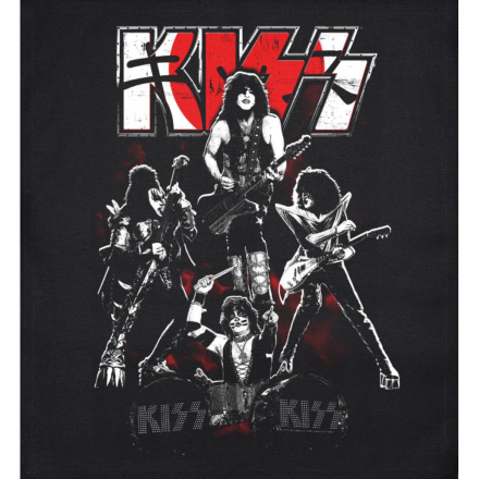 Kiss - Japan patch 35*40 cm