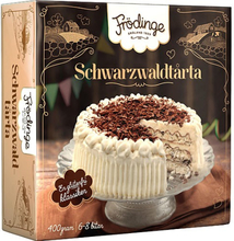 Tårta Schwarzwald Fryst