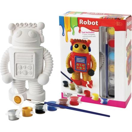 Oliver & KidsMal figur i porselen, Robot