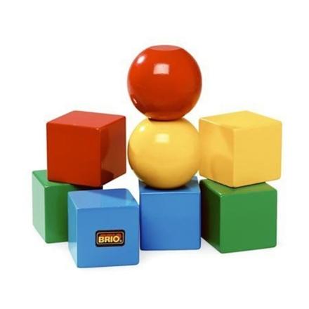 BRIO Baby - 30123 Magnetiske klodser - Lekmer