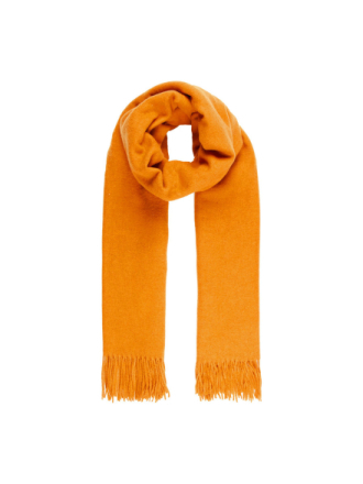 VERO MODA Wool Scarf Women Orange