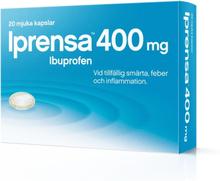 Iprensa Mjuka Kapslar Ibuprofen 400mg