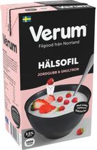 Hälsofil Jordgubb-Smultron 3,5%