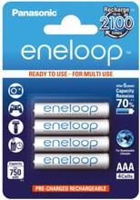 Panasonic Eneloop Ready2Use Oppladbare AAA Ni-MH Batterier - 4 stk.