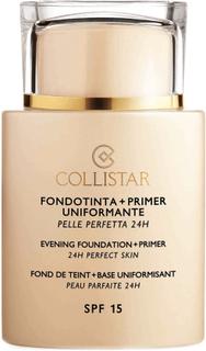 Collistar Evening Foundation + Primer SPF 15 24h Perfect Skin - Avorio