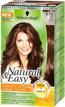 Natural & Easy 576 Kastanj -