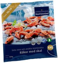 Räkor Med Skal 50/70
