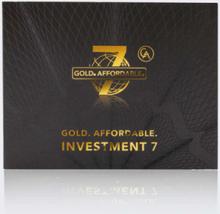 7er Set Investment-Goldmünzen 2019