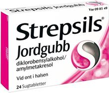 Strepsil Jordgubb Halstablett