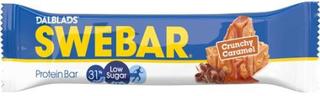 Swebar Crunchy Caramel Proteinbar Low Sugar