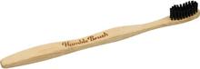 Tandborste Soft Bambu Vuxen Svart 1st