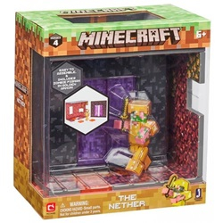 Minecraft The Nether Biome Playset Action Figure Set Series 4 - wupti.com