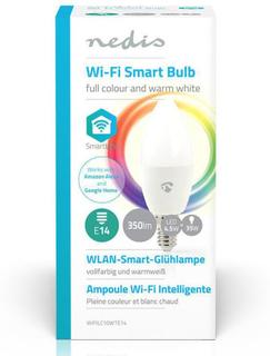 Nedis Smartlife Smart LED-pære E14 RGBWW