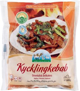 Kyckling Shwarma (kycklingkebab)