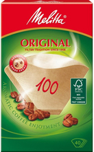 Kaffefilter 100 oblekta