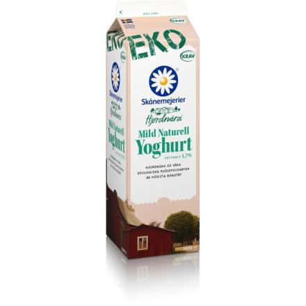 Hjordnära Ekologisk Mild Naturell Yoghurt 1,7%