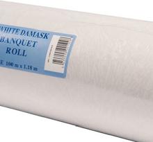 100 meter Hvit Papirduk på Rull