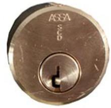 Rund enkelcylinder för utsidan ASSA MAX 5611