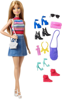 Barbie dukke og tilbehør