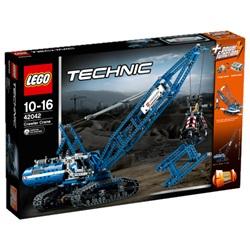 LEGO Technic Kran på larvefødder 42042 - wupti.com