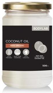 Bodylab Kaldpresset Kokosolje (500 ml)