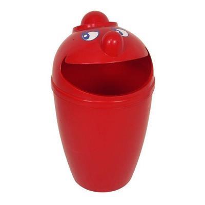 Affaldsspand, 75 l, rød